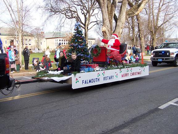 Falmouth Christmas Parade 2008